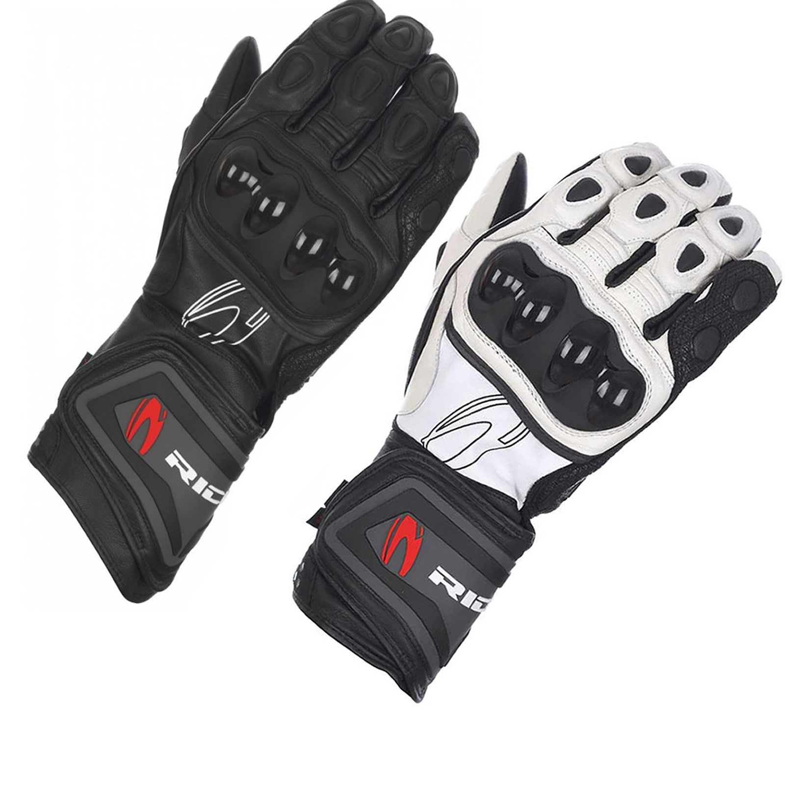Motorcycle leather gloves waterproof -  Motorcycle Leather Gloves Waterproof Armoured Ce Protection Bike Preview 3 Thumbnail 1 Thumbnail 2
