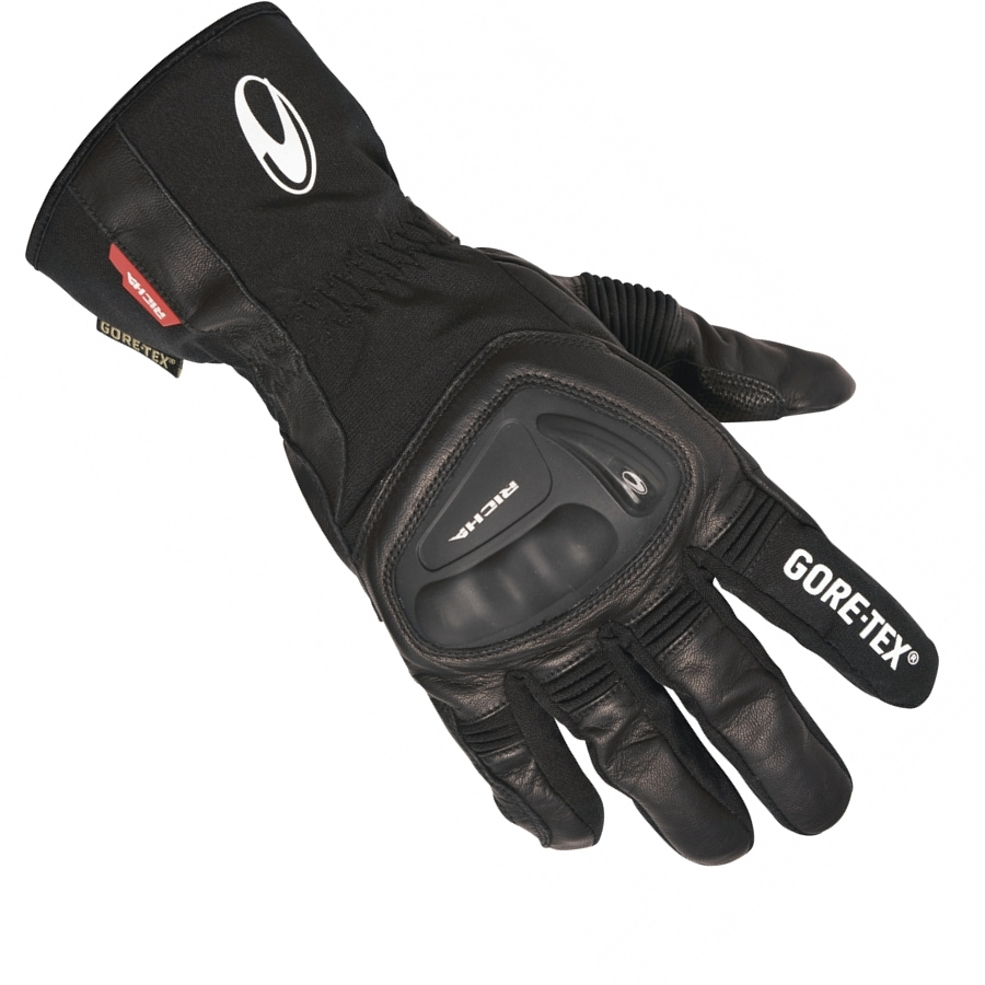 Motorcycle Gloves Richa - Richa hurricane gore tex motorcycle gloves