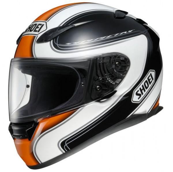 shoei xr1100 symmetry tc8 motorcycle helmet orange m ebay. Black Bedroom Furniture Sets. Home Design Ideas