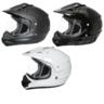 View Item THH TX-13 Plain Dual Sport Motocross Helmet