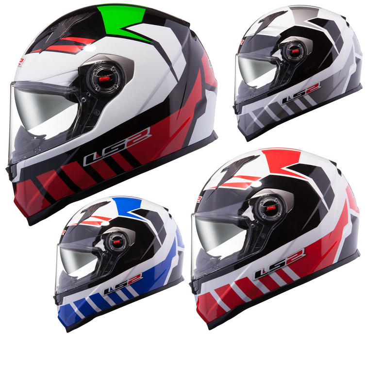 LS2 FF322.23 Voltage Motorcycle Helmet