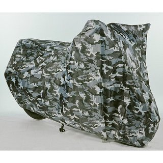 Oxford Aquatex Camo Motorcycle Cover (X-Large)