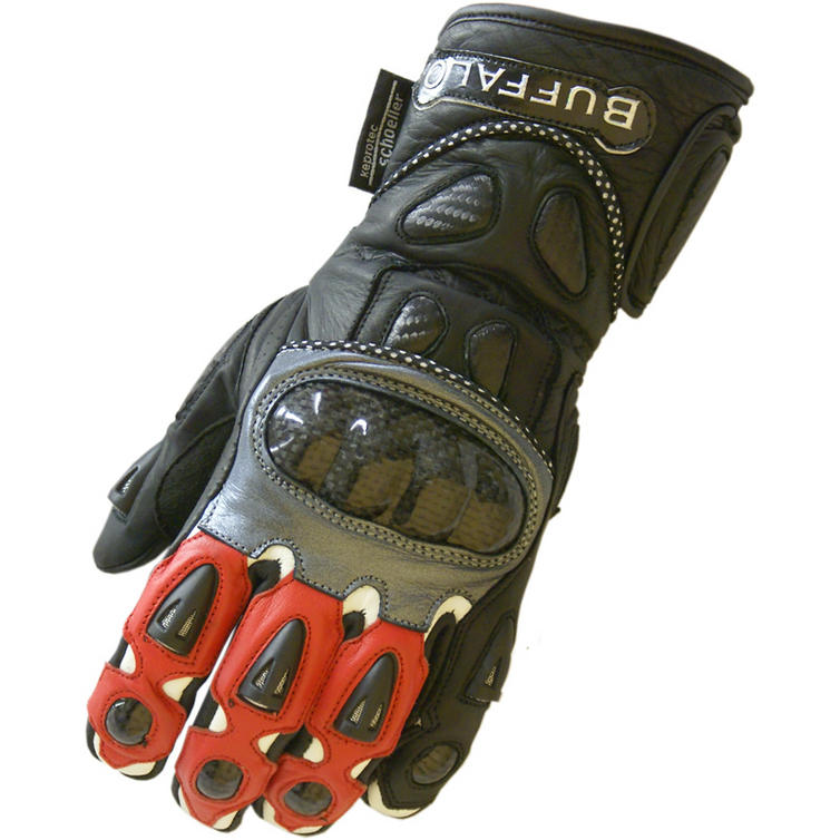 Sport Motorcycle Gloves: Buffalo Sport Leather Motorcycle Gloves