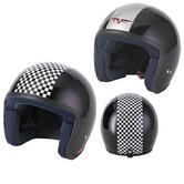 View Item Vcan V500-1 Classic Open Face Motorcycle Helmet