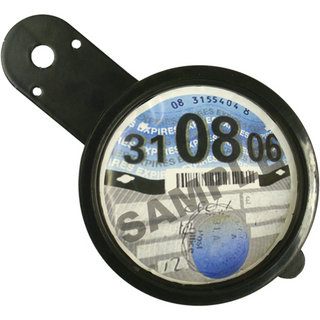 Oxford Motorcycle Tax Disk Holder