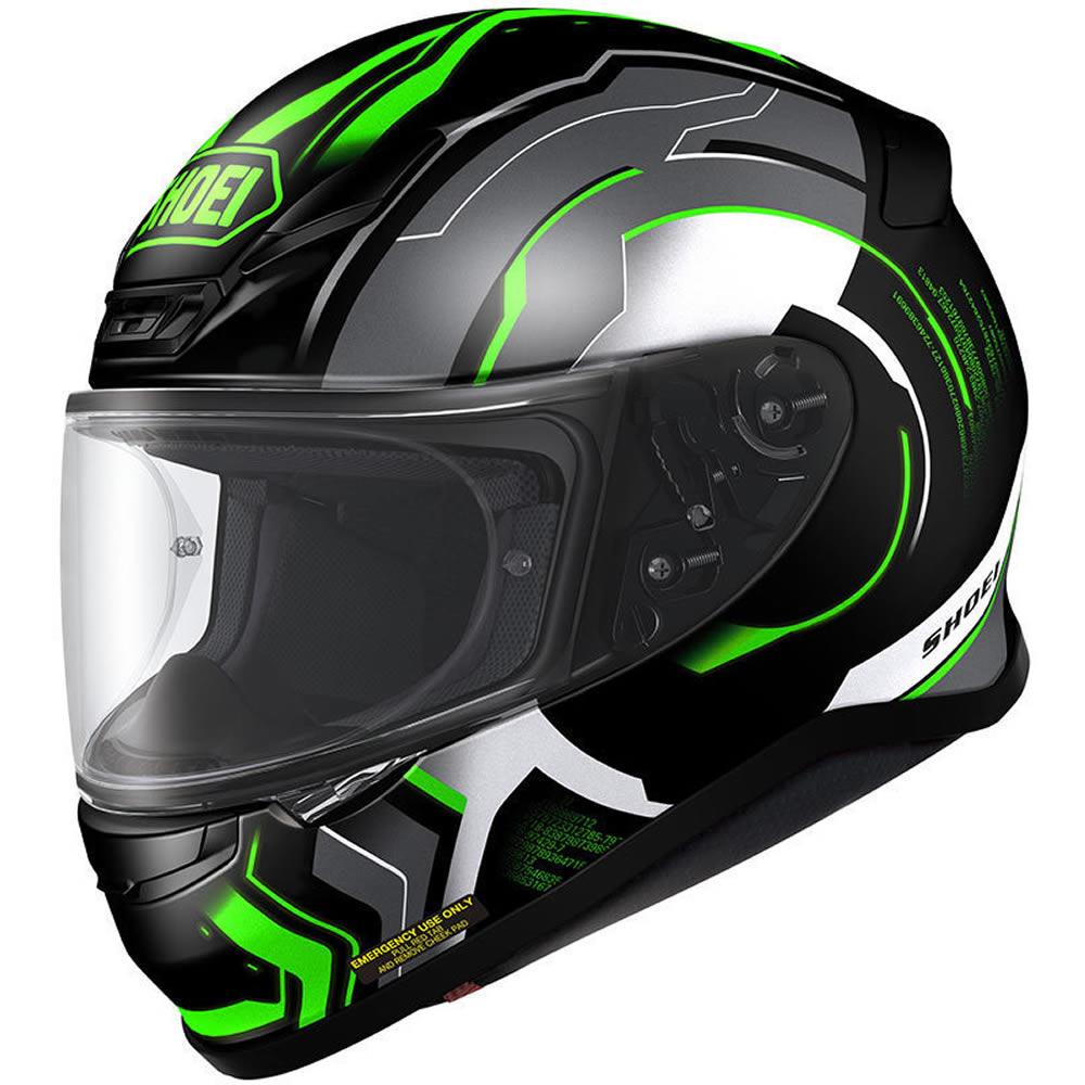 ... NXR Isomorph Black Green Motorcycle Helmet TC-4 Motorbike ACU Gold Lid