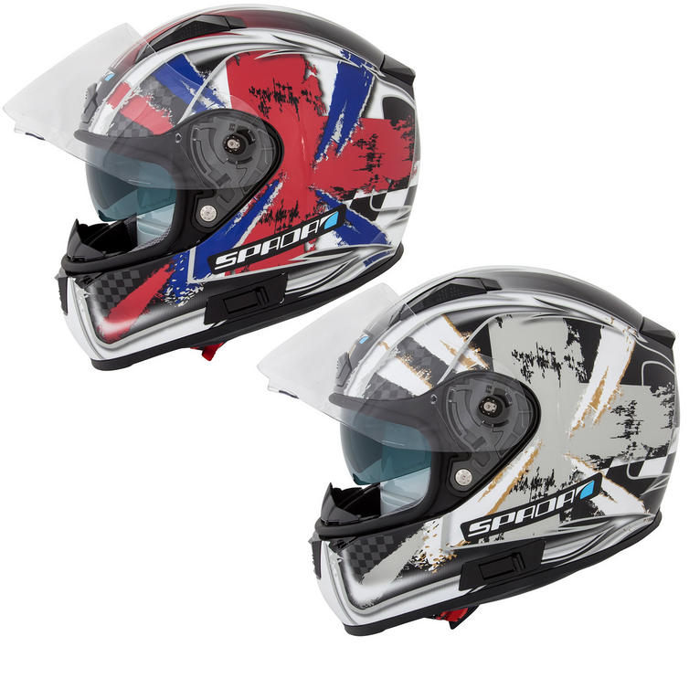 Spada Arc Patriot Motorcycle Helmet