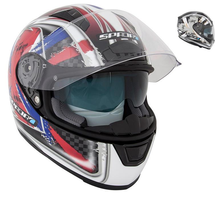 Image of Spada Arc Patriot Motorcycle Helmet