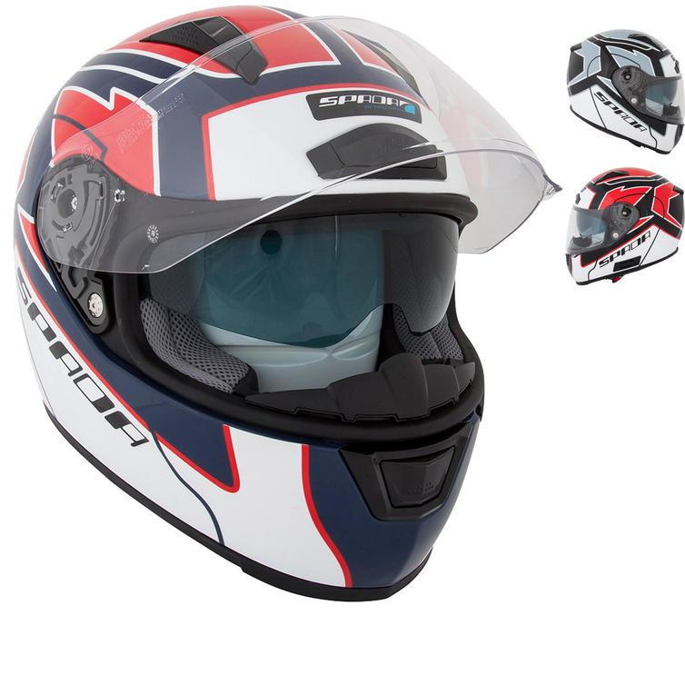 Image of Spada Arc Puzzle Motorcycle Helmet