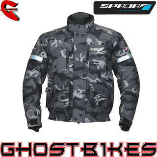 View Item Spada Camo Waterproof Motorcycle Jacket