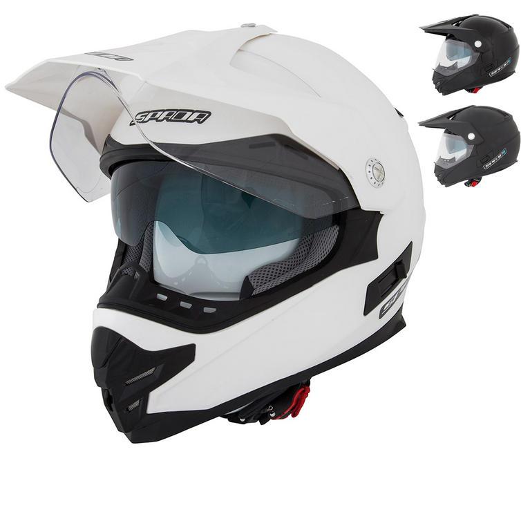 Spada Intrepid Dual Sport Motorcycle Helmet