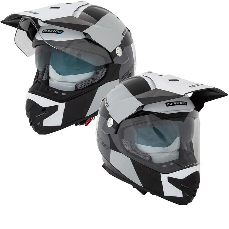 Spada Intrepid Adventure Dual Sport Motorcycle Helmet