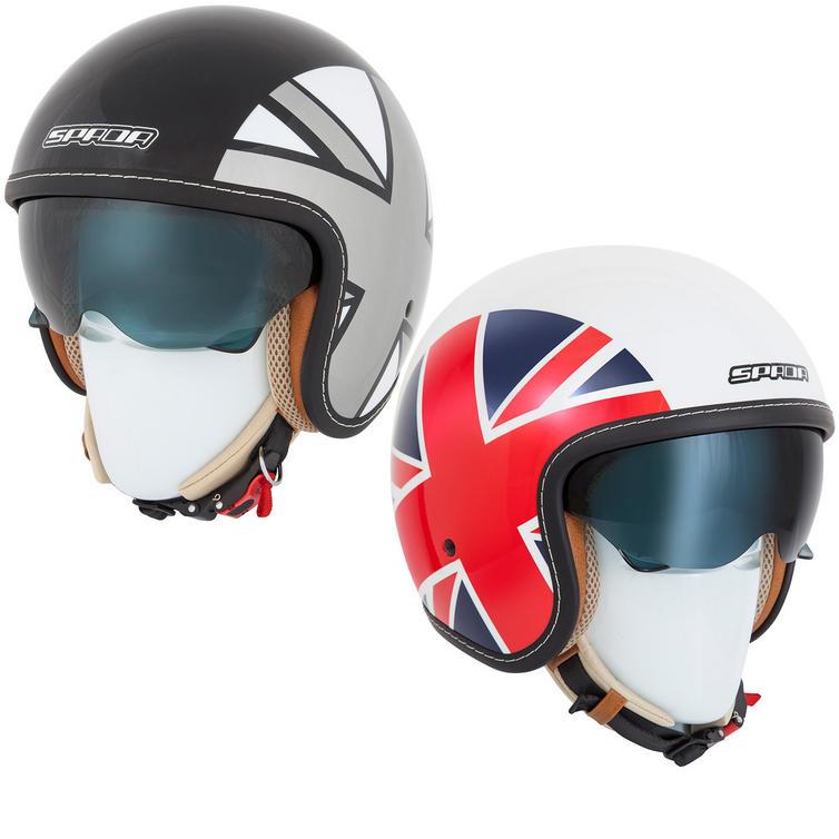 Spada Raze Empire Open Face Motorcycle Helmet
