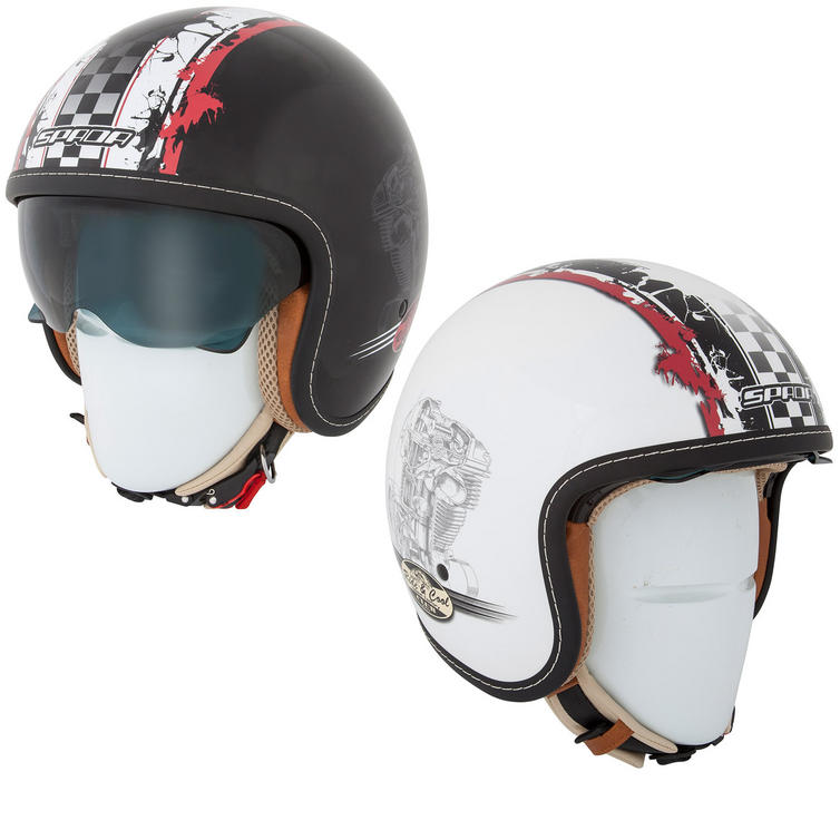 Spada Raze Revolution Open Face Motorcycle Helmet