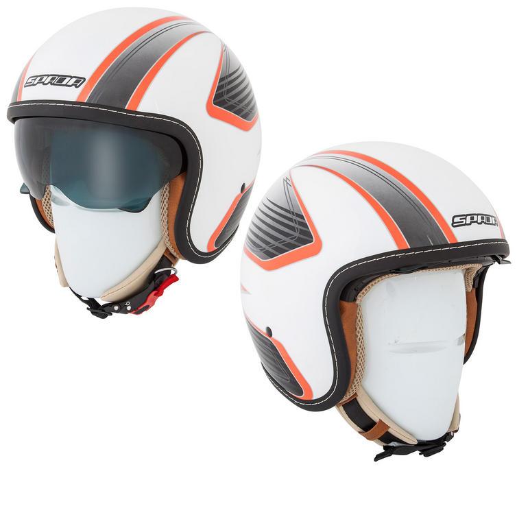 Spada Raze Vecta Open Face Motorcycle Helmet