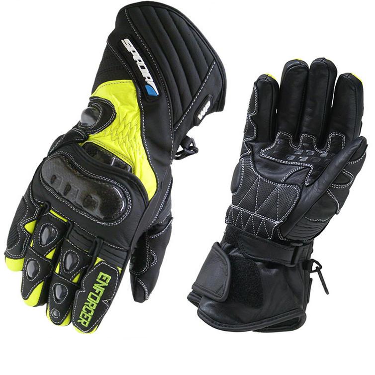 Spada Enforcer WP Hi-Vis Motorcycle Gloves