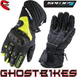 View Item Spada Enforcer WP Hi-Vis Motorcycle Gloves
