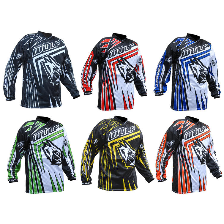 Wulf WSX-4 Adult Motocross Jersey Preview