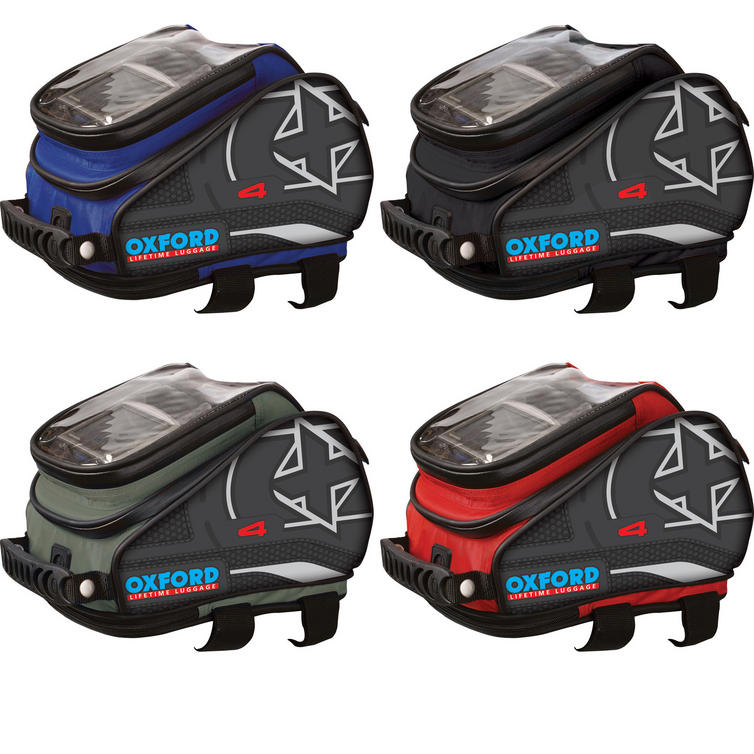 Oxford X4 Lifetime Motorcycle Tank 'n' Tailer 4L