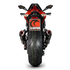 Scorpion Serket Taper Carbon Oval Exhaust - Kawasaki Z1000 2014 No Panniers Thumbnail 5