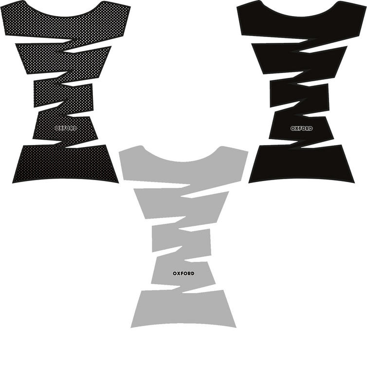 Oxford Jagged Motorcycle Vinyl Tank Pad