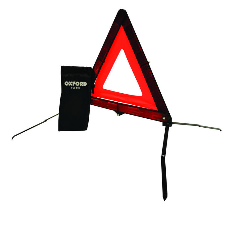 Oxford Compact Warning Triangle Red