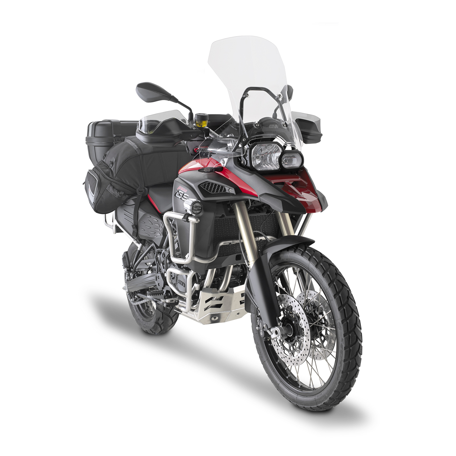 Givi S320 Led Aluminium Trekker Motorcycle Fog Lights