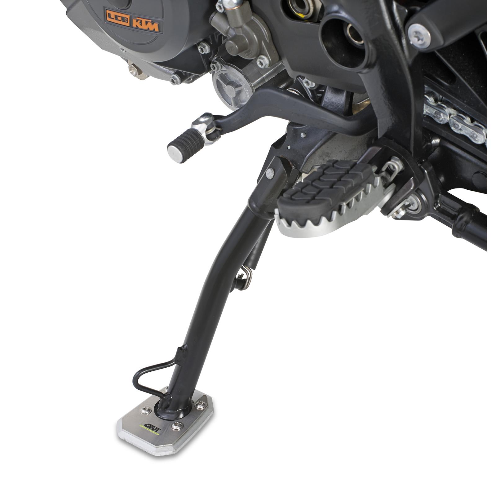 givi es684 motorcycle motorbike side stand support mount foot bmw r1200 gs 04 05. Black Bedroom Furniture Sets. Home Design Ideas