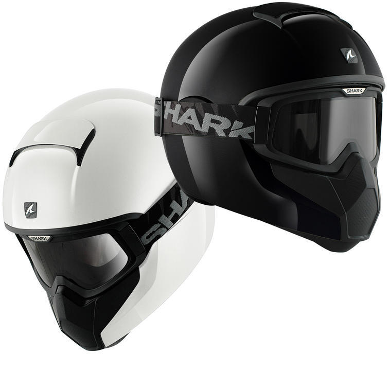 Shark Vancore Plain Gloss Motorcycle Helmet