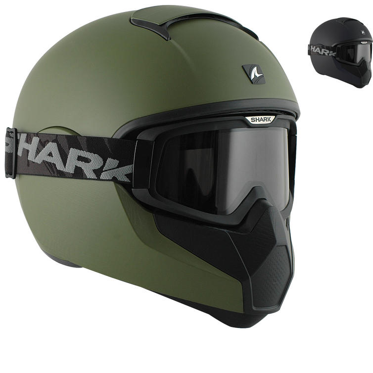 Shark Vancore Plain Matt Motorcycle Helmet