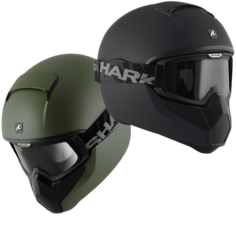 Shark Vancore Plain Matt Motorcycle Helmet