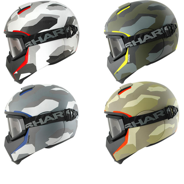 Shark Vancore Wipeout Motorcycle Helmet