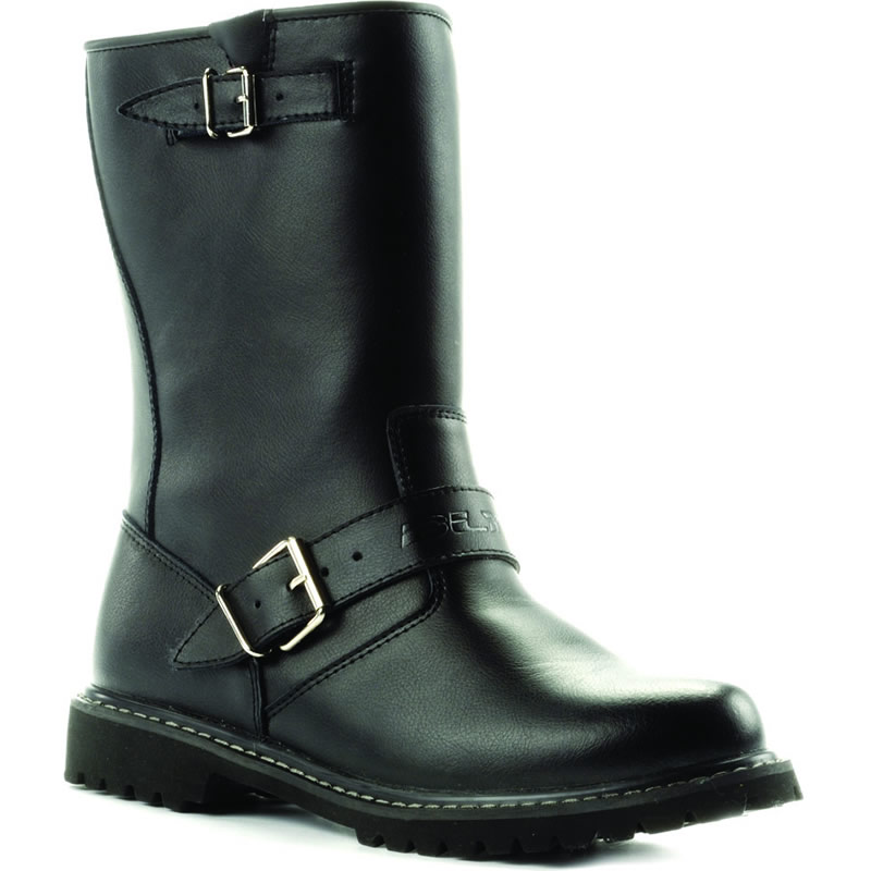 blytz lt leather cruiser waterproof motorbike motorcycle touring biker boots ebay. Black Bedroom Furniture Sets. Home Design Ideas