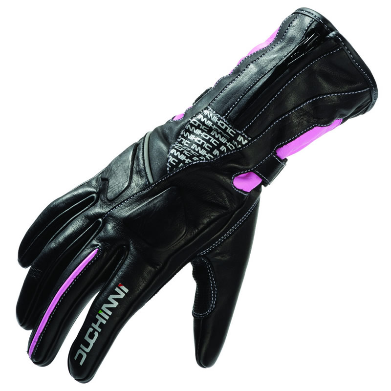 DUCHINNI-496-LADIES-LEATHER-MOTORBIKE-WOMENS-SUMMER-MOTORCYCLE-TOURING-GLOVES