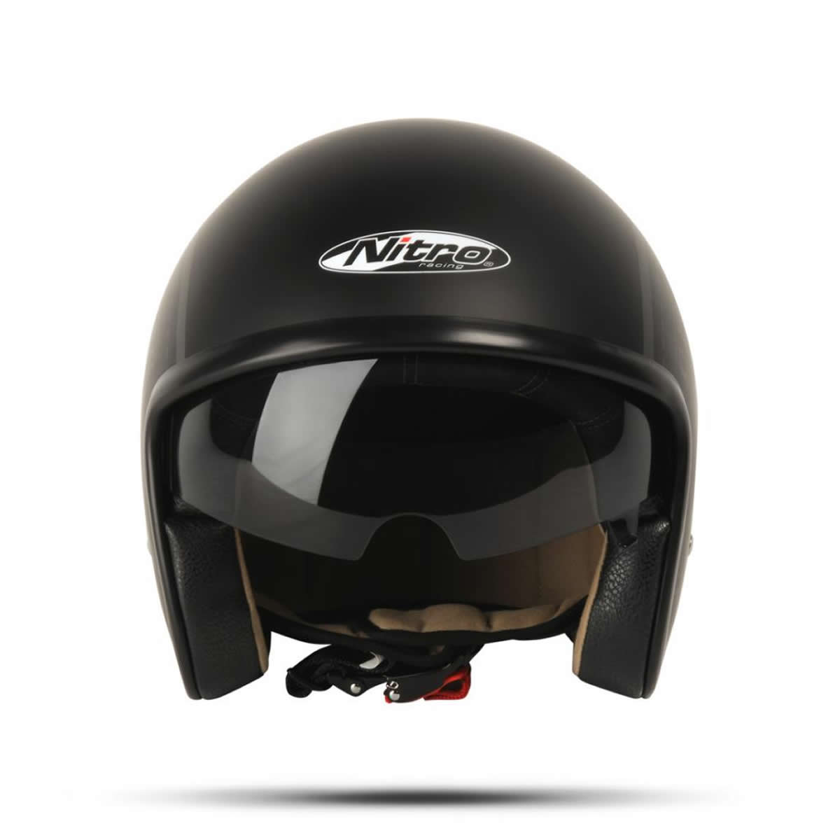 NITRO X DECAL CLASSIC OPEN FACE SUN SHIELD SCOOTER MOD BIKE - Motorcycle helmet face shield decals