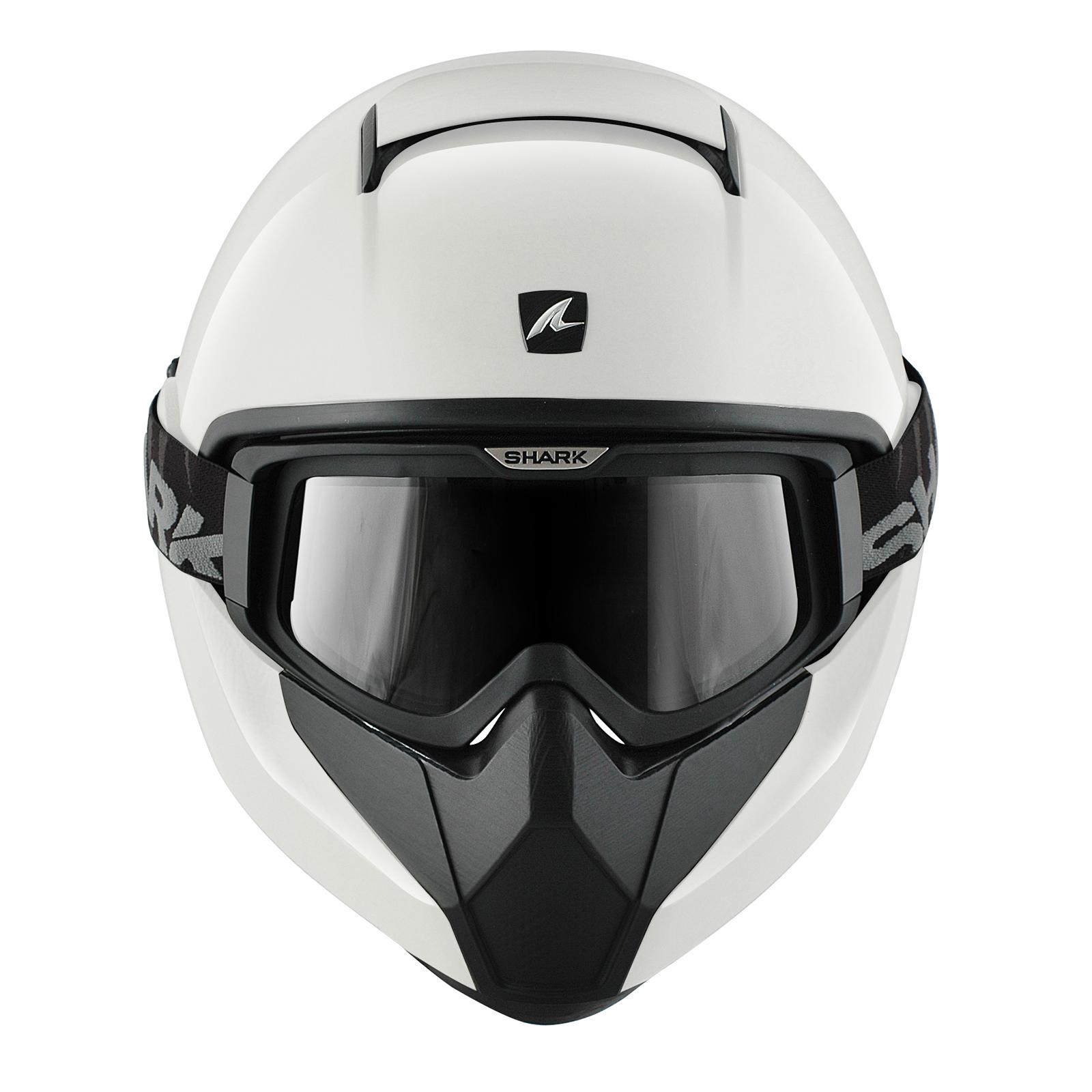 Fighter Pilot Motorcycle Helmet Shark Vancore P...