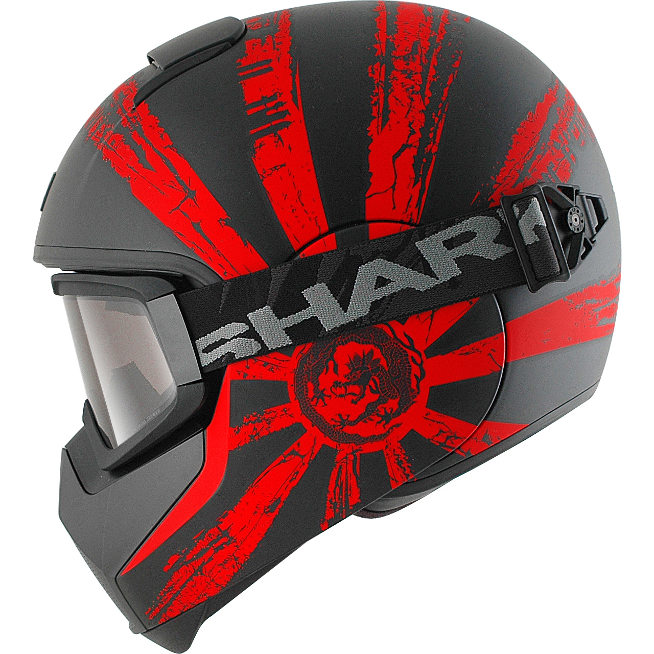 Shark Vancore Ryu Motorcycle Helmet Full Face Goggles