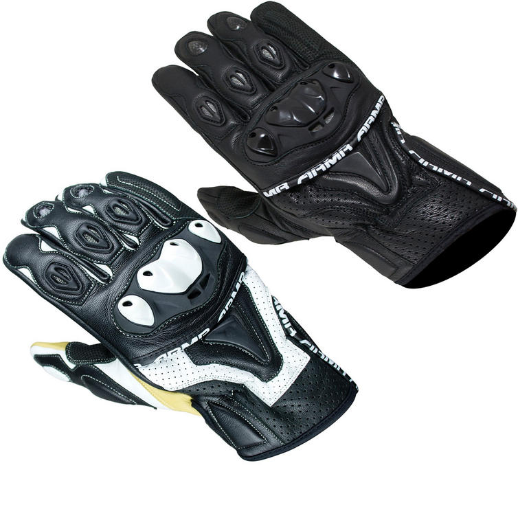 ARMR Moto SHL445 Leather Motorcycle Gloves