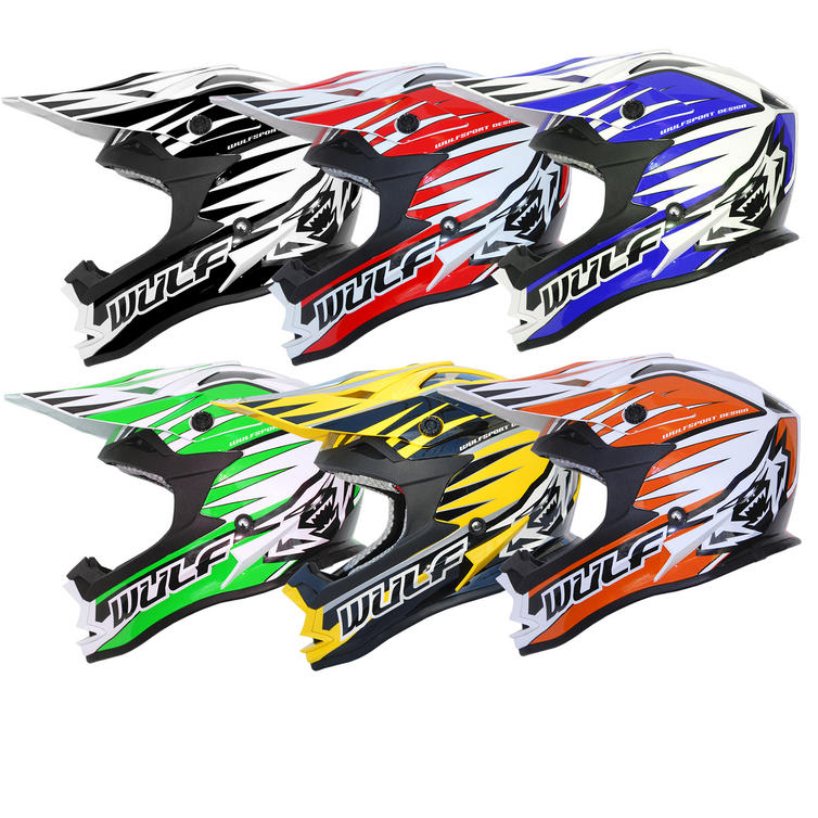 Wulf Advance Motocross Helmet