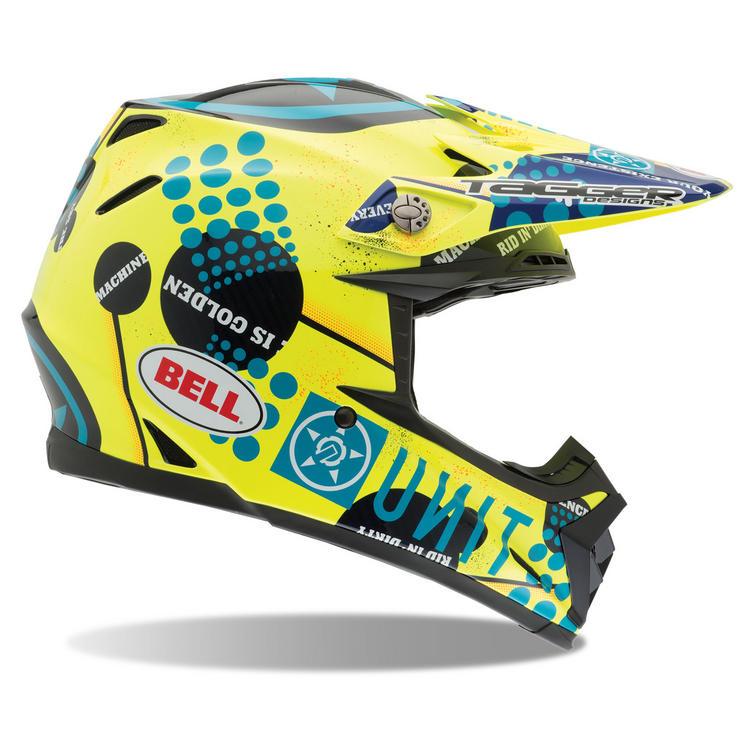 Bell Moto-9 Carbon Unit Existence Motocross Helmet