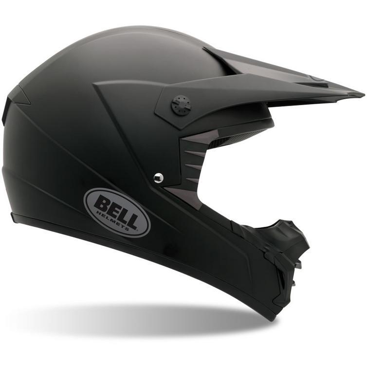 Bell SX-1 Plain Motocross Helmet