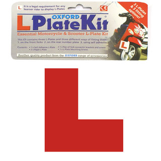 View Item Oxford L Plate Kit (OF734)
