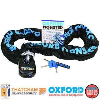 View Item Oxford Monster Chain & Lock 2.0m