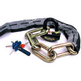 Oxford Nemesis Chain and Lock 1.5m