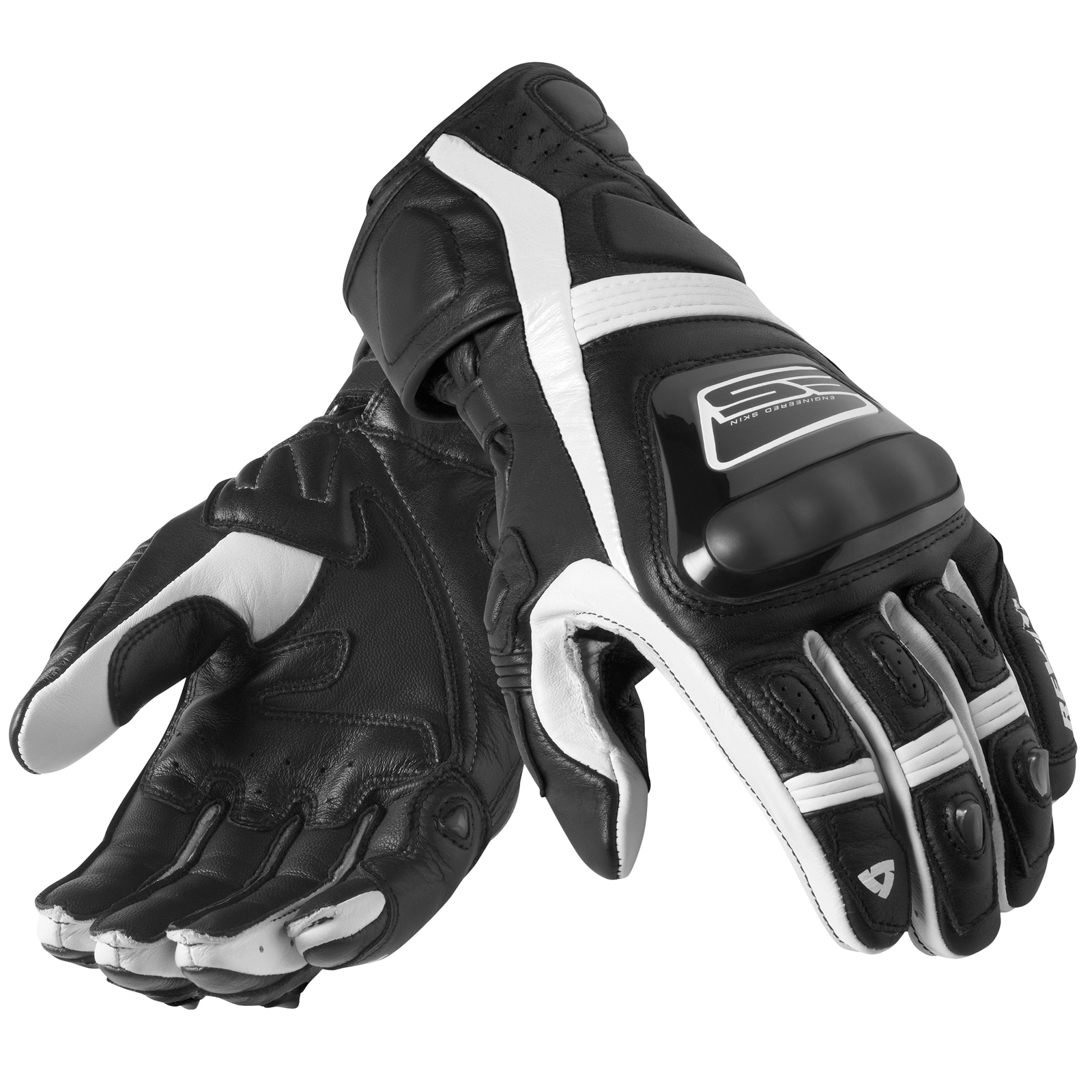 Motorcycle gloves for summer - Revit Stellar Motorcycle Sports Racing Street Armoured Vented