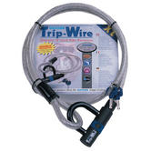 View Item Oxford Trip Wire XL Silver Cable U-Lock 1.6m
