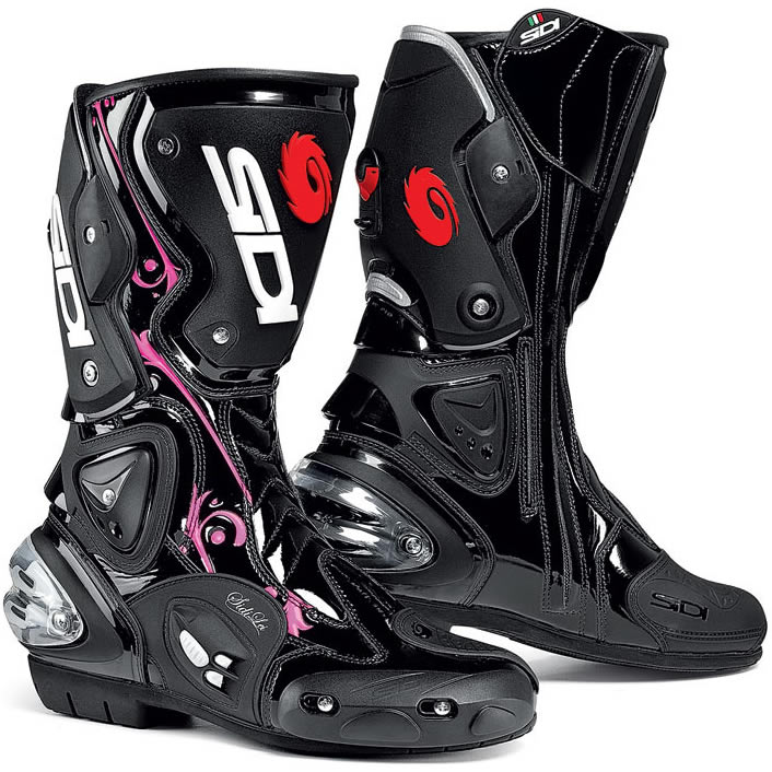 SIDI VERTIGO LEI LADY MOTORCYCLE WOMENS LADIES RACE MOTORBIKE ROAD BIKE BOOTS Enlarged Preview