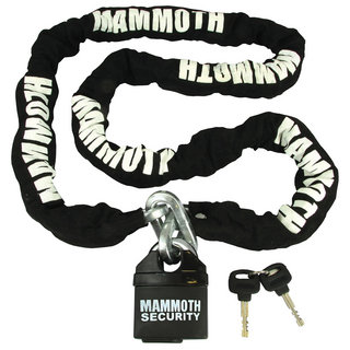 View Item Bike It Mammoth 1.8m Motorbike Chain & Lock