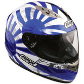 Box FZ-1 Rising Sun Motorcycle Helmet