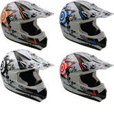 Box MX-5 Target Junior Motocross Helmet